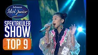 ANNETH - PELANGIKU (Sherina Munaf) - TOP 9 - Indonesian Idol Junior 2018