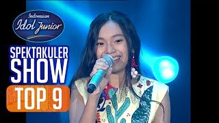 JOA - BURUNG CAMAR (Vina Panduwinata) - TOP 9 - Indonesian Idol Junior 2018