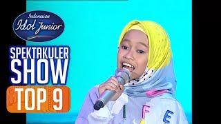 RAISYA - JAGOAN (Sherina Munaf) - TOP 9 - Indonesian Idol Junior 2018
