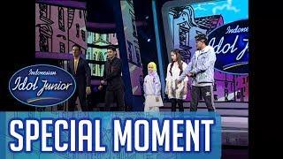 Raisya Dance Yolo bersama Kak Rayi & Kak Iki! - TOP 9 - Indonesian Idol Junior 2018