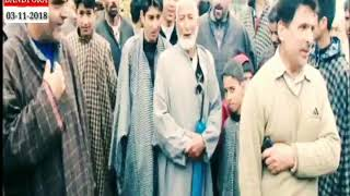 *Anti encroachment drive in bandipora* ( Report : Anam ul haq )