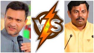 AKBARUDDIN OWAISI VS T RAJA SINGH   Election 2018   Telangana Polls   Firing Speech - DT News