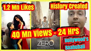 ZERO Trailer Becomes Fastest To Reach 40 Million Views And 1.2 Million Likes In 24 Hours
