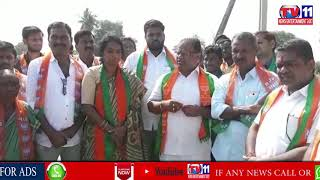 NIRMAL BJP MLA CANDIDATE SWARNA REDDY ELECTION CAMPAIGN AT NIRMAL