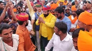 पोकरण(राजस्थान) में स्वाभिमान सभा में करणी सेना सुप्रीमो सुखदेव सिंह गोगामेड़ी का सम्बोधन