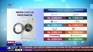 Perbandingan Harga E-Commerce: Mesin Cuci LG F8007NMCW