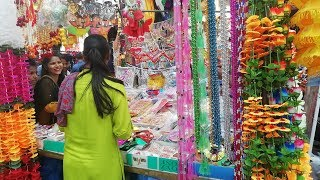DIWALI Shopping | Diwali Decoration Items | Diwali Gift | Atta market, Noida Sec 18