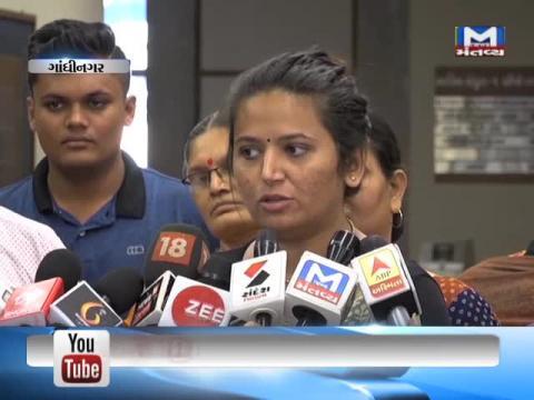 Reshma Patel met Deputy Chief Minister Nitin Patel