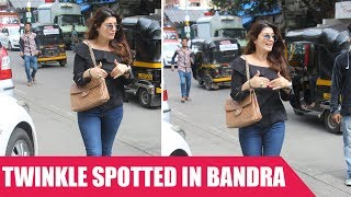 Twinkle Khanna Snapped In Bandra