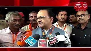 [ Koshambi ] स्वास्थ्य मंत्री सिद्धार्थ नाथ सिंह ने कहा संविधान के दायरे में ही बनेगा राम मंदिर