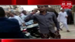 [ Hapur ] हापुड़  में त्योहारों को देखते हुए जिला पुलिस ने चलाया अतिक्रमण हटाओ अभियान