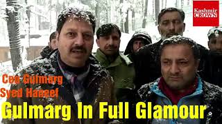 #Gulamarg In Glamour. Ceo Gulmarg Syed Haneef Balkhi Issues Advisory For Visitors.