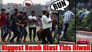 Epic Diwali Dhamaka Prank | Biggest Bomb | Unglibaaz