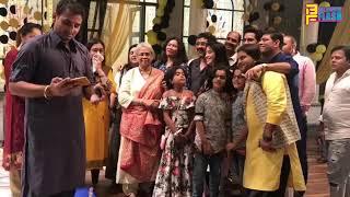 Ye Rishta Kya Kehata Hai Serial Team Celebrating Dhanteras Puja