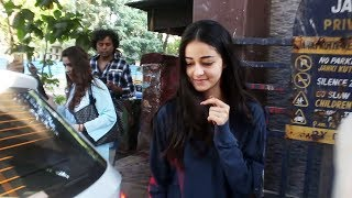 Ananya Pandey With Her Mom Bhavana Pandey Spotted At Clinic In Juhu