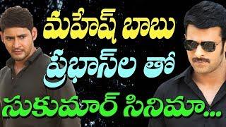 Sukumar to direct Prabhas next I sukumar I Prabhas I Saaho I mahesh babu I RECTV INDIA