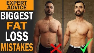BIGGEST FAT Loss Mistakes! (Hindi / Punjabi)