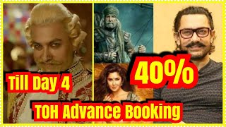 Thugs Of Hindostan Advance Booking Report Day 4