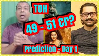 Thugs Of Hindostan Box Office Prediction Day 1