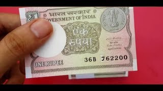 New One Rupee Note Comes In Circulation In Goa