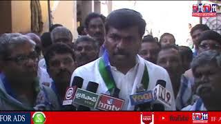 YSRCP LEADER SRIDHAR REDDY PADAYATRA AT PUTTAPARTHI | ANANTAPUR DIST