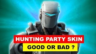 Is the Hunting Party Skin Good or Bad - OFFICIAL HUNTING PARTY SKIN REVEALED