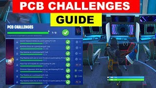 PCB Challenges - FREE VBUCKS FORTNITE PCB CHALLENGES GUIDE (FREE EMBERS CONTRAIL)