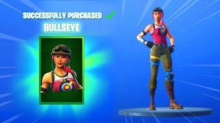 BULLSEYE EMOTE AND SKINS (Fortnite Item Shop November 6) - Fortnite Item Shop Today