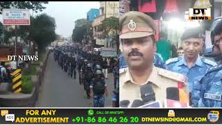 FLAG MARCH In Old City   Under Falaknuma Limits   On The View Of Upcoming Elections - DT News