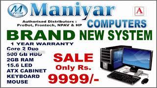 Biggest Diwali Dhamaka Offer Sale 9999 at Maniyar Computers Ring Road Gulbarga