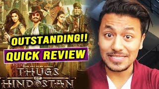 Thugs Of Hindostan QUICK REVIEW | Aamir Khan, Amitabh, Katrina, Fatima