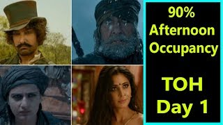 Thugs Of Hindostan Audience Occupancy Day 1 In Noon Shows