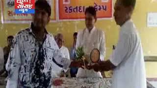 થરાદ-ભારતીય યુવા મોરચા દ્વારા પત્રકારોનો સન્માન સમારોહ