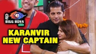 Karanvir Bohra Becomes NEW CAPTAIN Of The House | Bigg Boss 12 Latest Update
