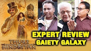 Thugs Of Hindostan EXPERT REVIEW By Gaiety Galaxy Guru | Bobby Bhai, Lalu Makhija, Vijay Shah