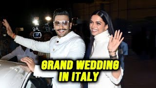 Ranveer Singh And Deepika Padukone Leave For ITALY For GRAND WEDDING | Ranveer-Deepika Wedding