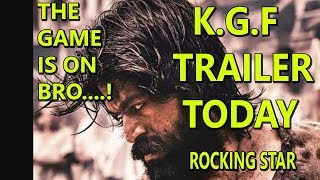 KGF Trailer Releasing Today In 5 Languages I Rocking Star YASH I Are You Excited?