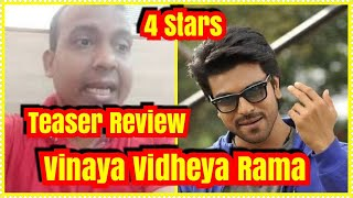 Vinaya Vidheya Rama Teaser Review