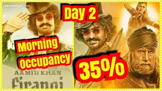 Thugs Of Hindostan Audience Occupancy Day 2 In MORNING Shows