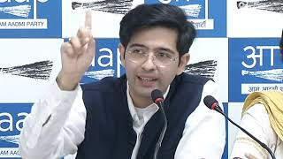 AAP National Spokesperson Raghav Chadha briefed on 2 years of Demonetisation Scam