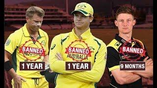 Cricket Australia may lift bans on Steve Smith David Warner and Cameron Bancroft