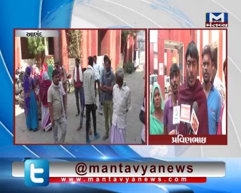 Anand: Family members alleged police for the death of man | Mantavya News