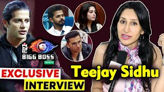 Teejay Sidhu Exclusive Interview On Bigg Boss 12 | Karanvir Bohra's Wife | Dipika, Sreesanth, Romil