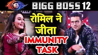 Romil WINS Immunity Task Safe From Nominations   Preity Zinta   Bigg Boss 12 Latest Update