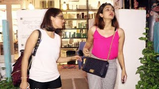 Yami Gautam With Sister Spotted At B Blunt Saloon Khar