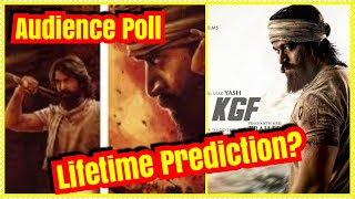 KGF Movie Lifetime Collection Prediction? Audience POLL