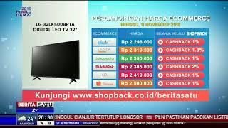 "Perbandingan Harga e-Commerce: LG 32LK500BPTA Digital Led TV 32"""