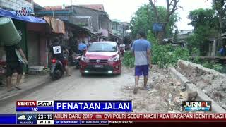 Sudin Bina Marga Jakut Tata Jalan Bendungan Melayu di Koja