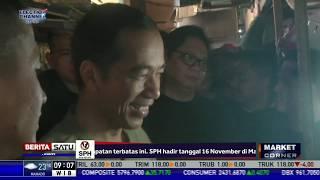 Jokowi Kembali Blusukan ke Pasar Cihargeulis