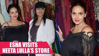 Esha Deol's Baby Shower: Esha Picks a Neeta Lulla Number